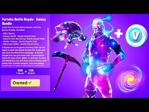 How To Get The GALAXY SKIN For FREE In FORTNITE CHAPTER 2 (Galaxy Skin Glitch Fortnite)