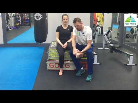 Ankle Sprain Rehab (Beginners)