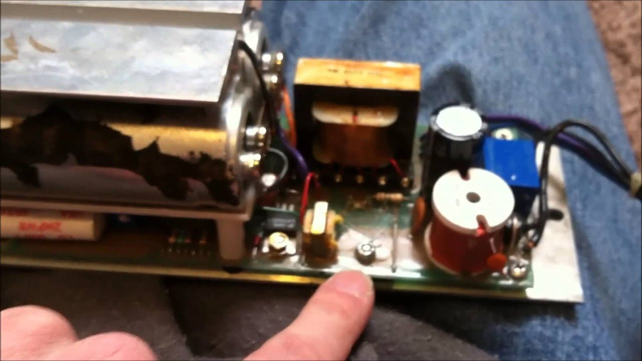 Whelen Edge Strobe Power Supply Repair Service Blows Fuses - YouTube
