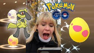 Shiny Riolu?? die letzten Event Eier brüten I Pokémon GO deutsch Berlin #547