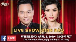 Livestream với Đình Bảo & Nguyễn Hồng Nhung - April 3, 2019