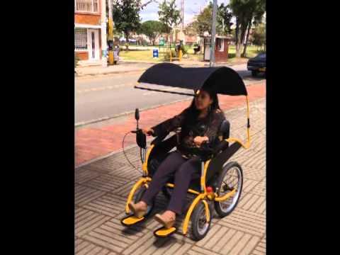 Silla de ruedas el ctrica todo terreno youtube for Silla de ruedas electrica