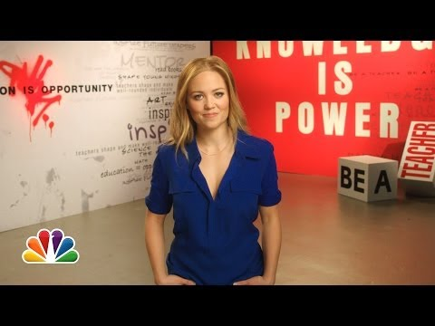 Erika Christensen: The More You Know PSA on Education