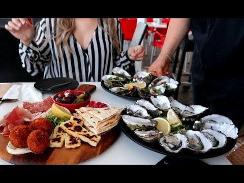 Awesome Oyster Experience In South Australia Adelaide At Holdfast Shores Marina Pier