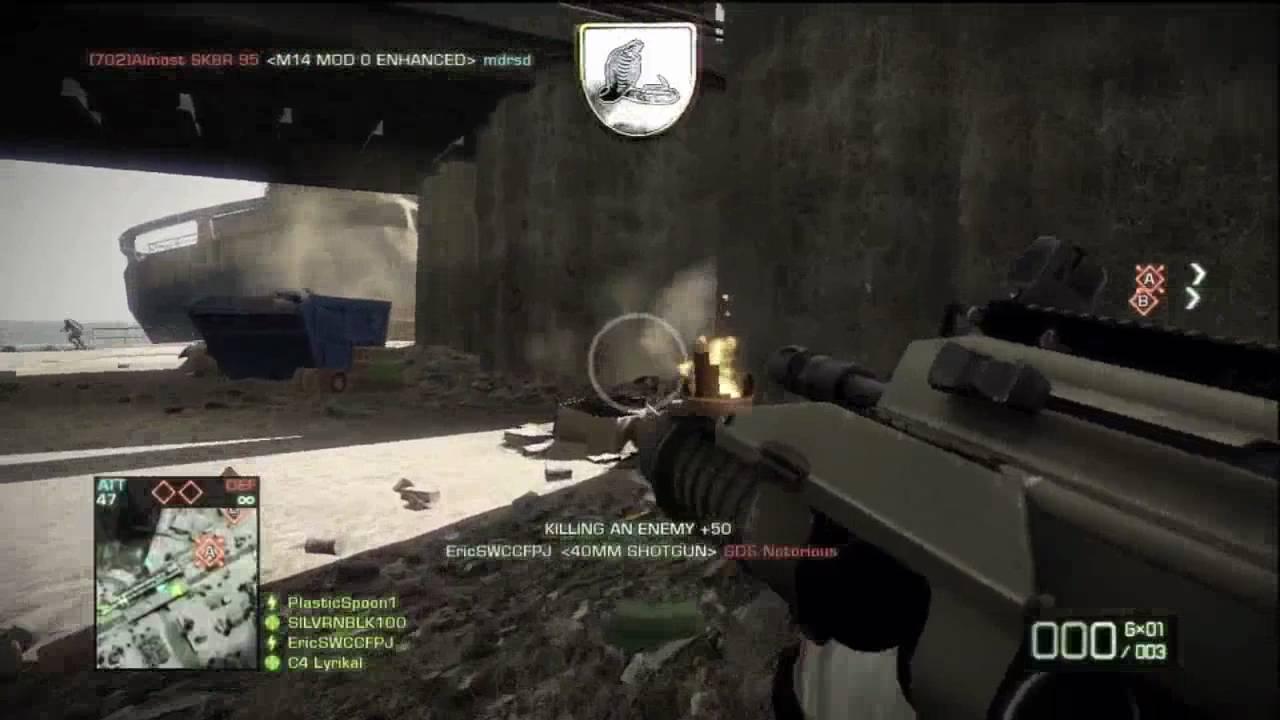 40mm Shotgun - Battlefield: Bad Company 2