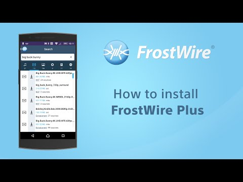 How To Install FrostWire Plus From Frostwire.com