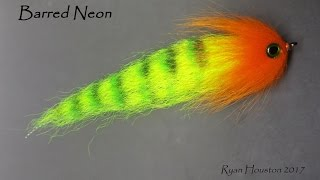 tying the NEON a simple pike fly with Ryan Houston