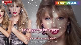 Taylor swift - blank space (with lyric and translate) dengan lirik dan terjemahan