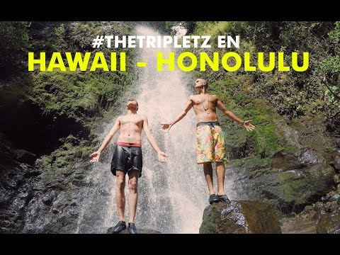 #TheTripletz en Hawaii: HONOLULU - VLOG
