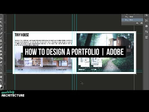 How to make a portfolio for Architects in Adobe Photoshop 2!