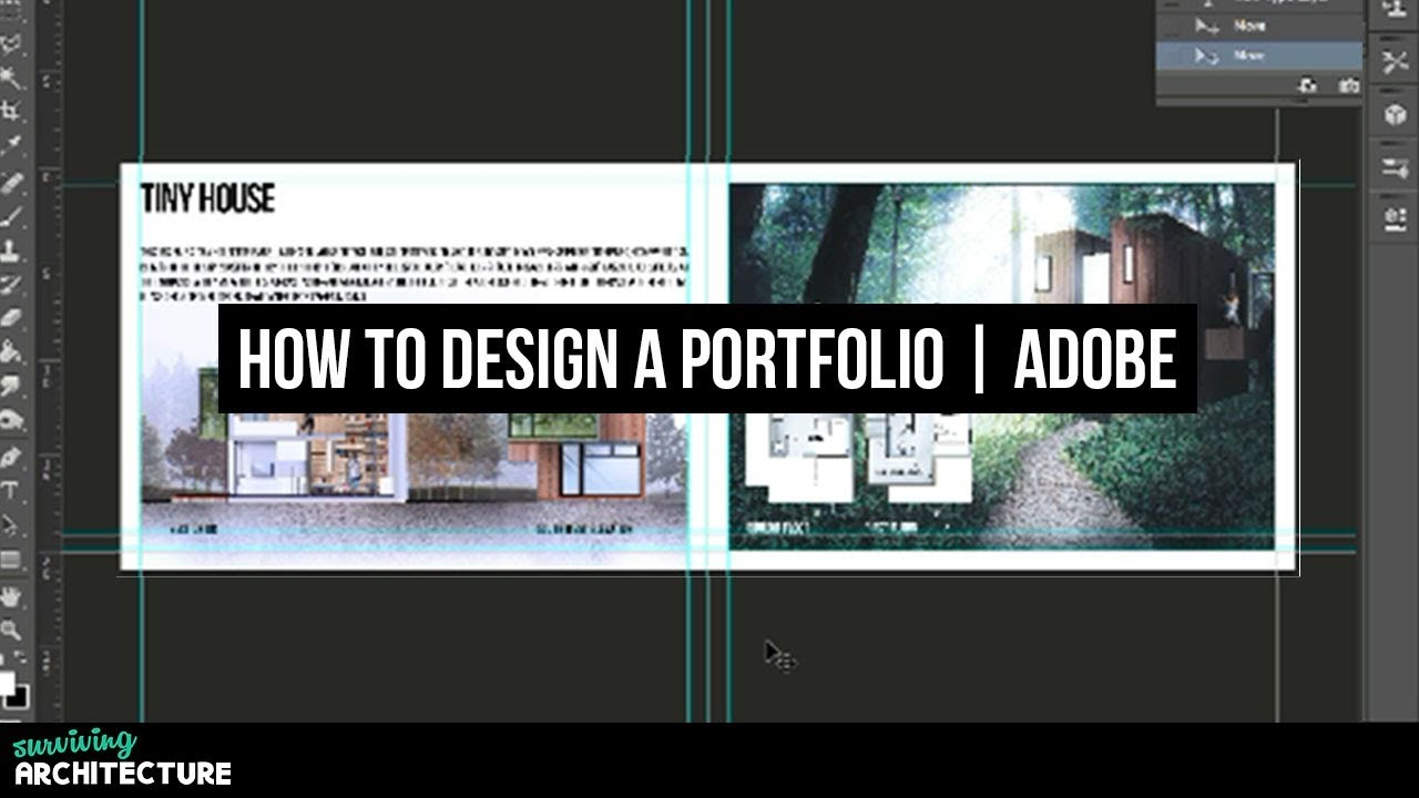 How To Make A Portfolio For Architects In Adobe Photoshop