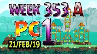 Angry Birds Friends Tournament Level 1 Week 353-A PC Highscore POWER-UP walkthrough