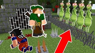 FUJA DO ESCONDERIJO 100% SECRETO DO GRINCH NO MINECRAFT!!