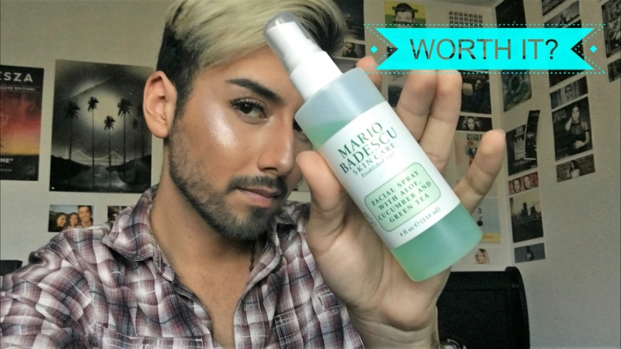 To The Point Mario Badescu Cucumber Spray Review