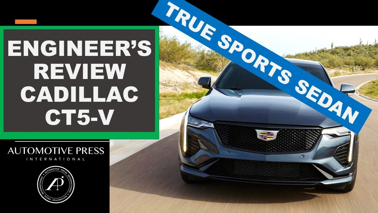 Engineer Reviews All-New Cadillac CT5-V using special technique