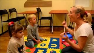 Первый урок английского для дошколят