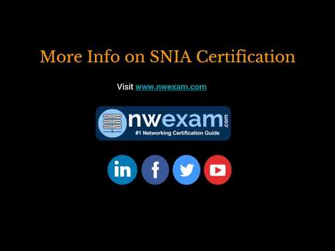 Best Way To Prepare For The SNIA Storage Architect (S10-310) Certification Exam