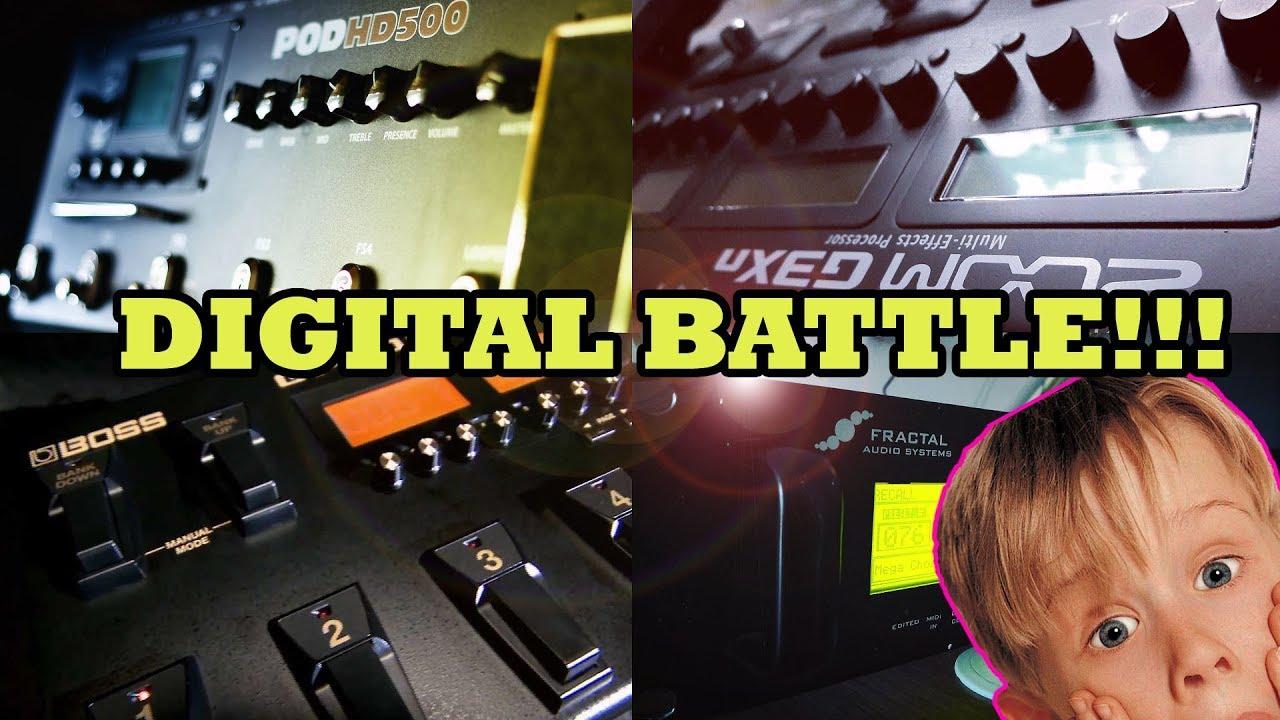 Download Pod hd vs Fractal vs Boss Gt100 vs Zoom G5n