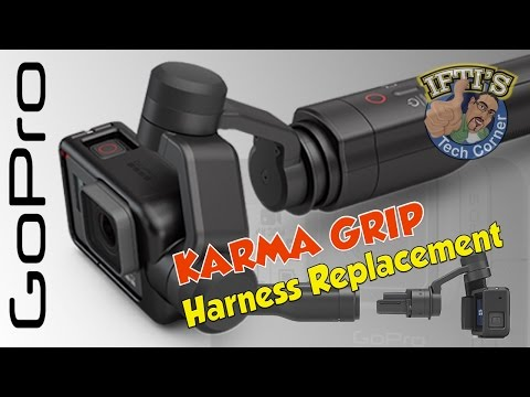 GoPro Karma Grip : Replacing the Harness...