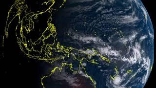 Le cyclone Gita à l'approche de la Nouvelle-Calédonie