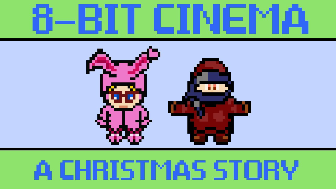 A Christmas Story - 8 Bit Cinema - YouTube