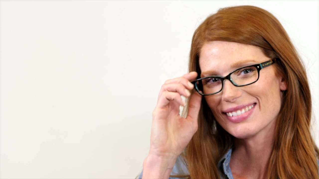4642eb0221ce Kate Spade Lucyann Eyeglasses - YouTube
