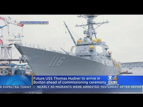 Navy Ship To Be Named After Concord's Thomas Hudner Visits Boston