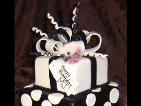 black and white cake decorating ideas youtube