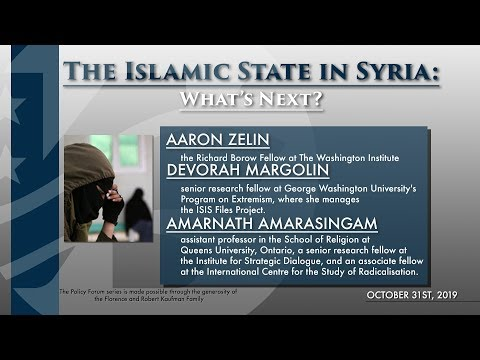 The Islamic State in Syria: What's Next?