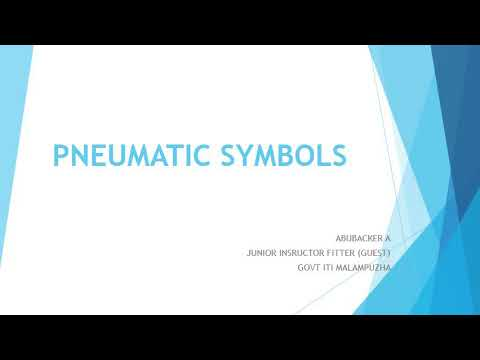 Pneumatic Symbols - Fitter second year theory class