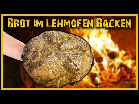 ???? Brot backen im Lehmofen ???? - Steinofen Outdoor Bushcraft Ofen Deutschland