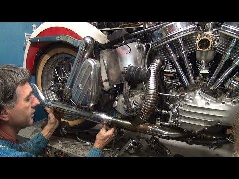 1958 panhead 74ci #151 fl bike rebuild topend repair harley by tatro machine