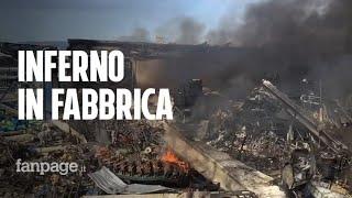 Esplosione in fabbrica ad Ottaviano: un morto e due feriti