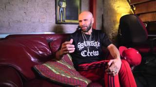"Goldie & John Niven talk about Kill Your Friends Character ""DJ RAGE"""