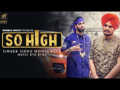 So High || sidhu moose Wala || Latest Punjabi song || bass boosted