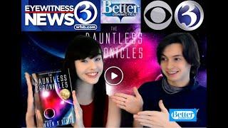 CBS - WFSB-TV Interview: #1 International Bestseller - THE DAUNTLESS CHRONICLES - on Better CT