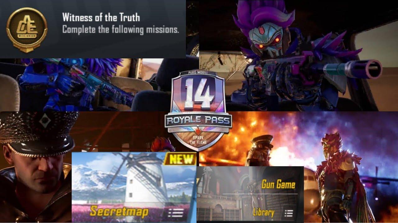New GunGame Mode | Season 14Leaks🛑 | Update 19.0  | New Map (LIVIK) 😍 | New Achievements 🛑