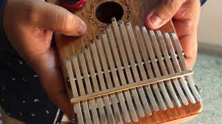 Kalimba - an African Instrument - A Short Demo