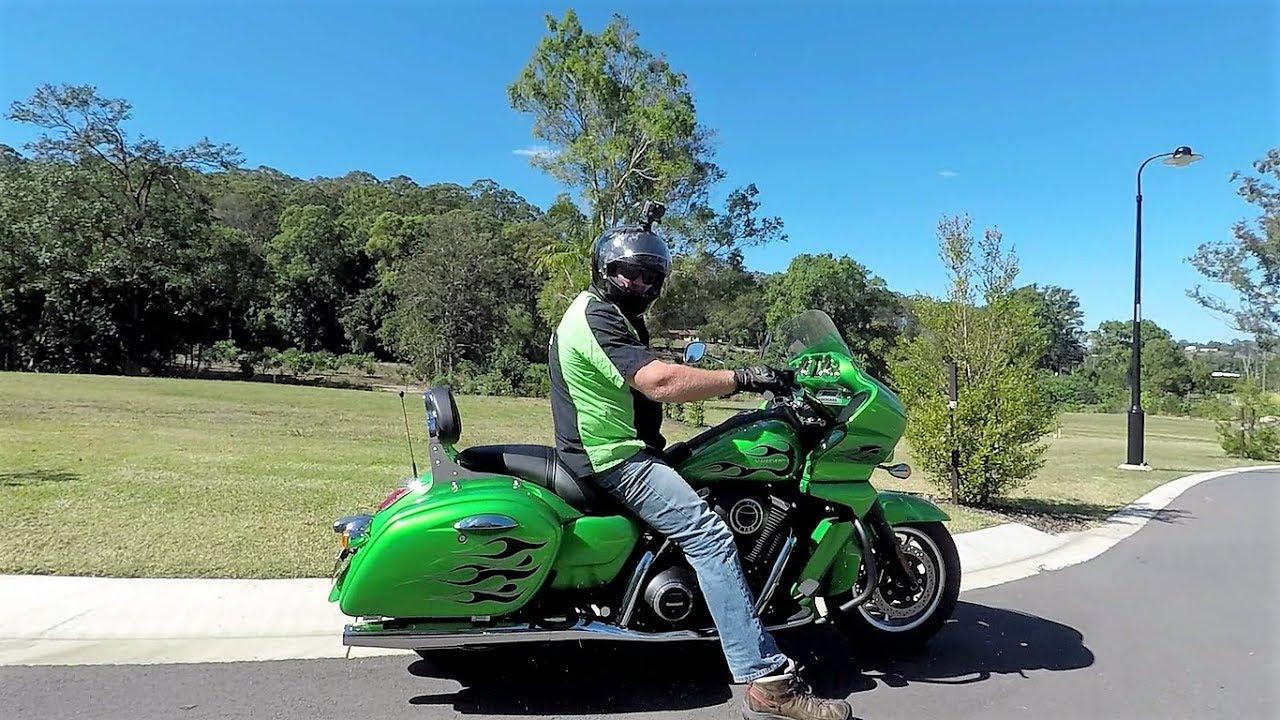 2015 Kawasaki Vulcan Vaquero 1700cc Complete 5000 KM Review & Ride