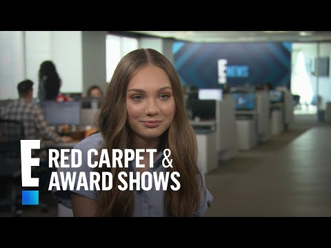 Maddie Ziegler Gushes Over Working With Sia | E! Live from the Red Carpet