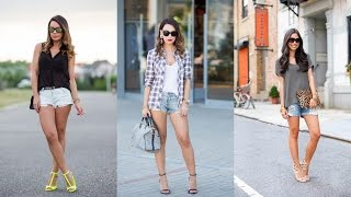 16 Cool Ways To Style Your Denim Cutoff Shorts