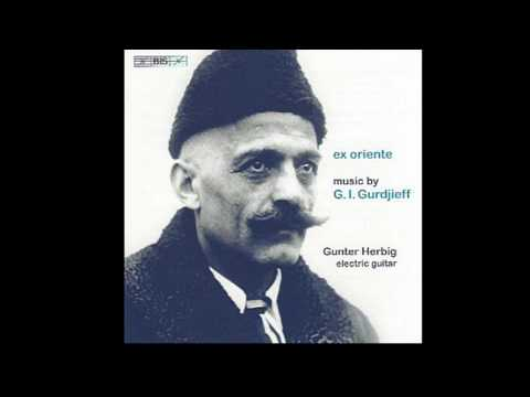 Gurdjieff/de Hartmann As if the Stormy Years had Passed, Gunter Herbig electric guitar