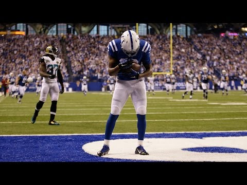 T.Y. Hilton honors his daughter on this touchdown (Week 12, 2014)