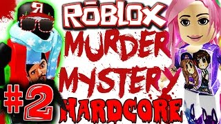 ROBLOX: MURDER MYSTERY HARDCORE #2