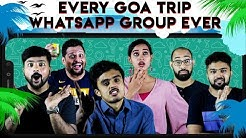 Every GOA Trip WhatsApp Group Ever | Babru Kannada movie | Suman Nagarkar