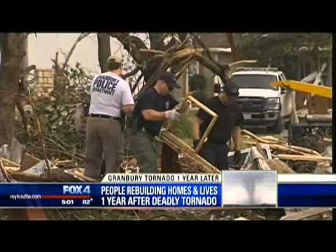 One year since Granbury tornado