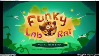 RPCS3 PS3 Emulator - Funky Lab Rat Ingame! OGL (b7a7a5c5)