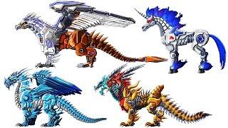 Toy Robot War Gameplay #3: Gryphon & Fanstasy Beasts   Eftsei Gaming