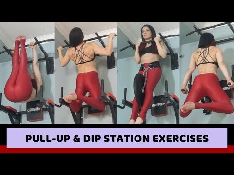 Pull Up Dip Station Exercises | One Two Fit Review