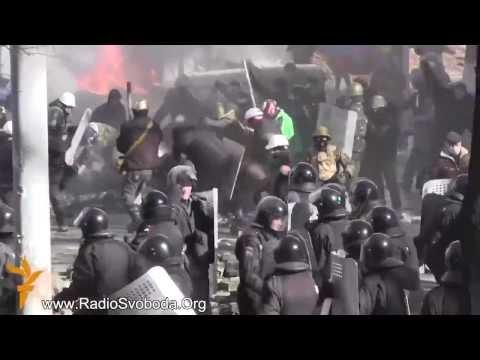 Бои Майдан Киев